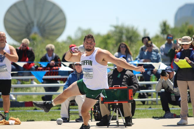 Former Lancaster standout Nik Curtiss, who is a member of the Tiffin University men's track and field team, has qualified for and will compete  in the shot put at the United States Olympic Trials in Eugene, Oregon. The top 24 throwers in the nation will compete at the trials, with the top three landing spots on the US Olympic team. Curtiss was a top performer for Tiffin this season with a second-place finish at the NCAA Division II Outdoor Nationals in the shot put. He qualified with a mark of 19.78m. Curtiss has a total of seven All American honors in his career. He also finished as national runner-up in shot put at the NCAA Indoor Championships in March.
