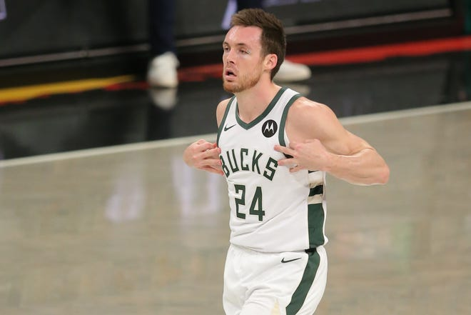 Bucks shooting guard Pat Connaughton has come up big against the Atlanta Hawks.