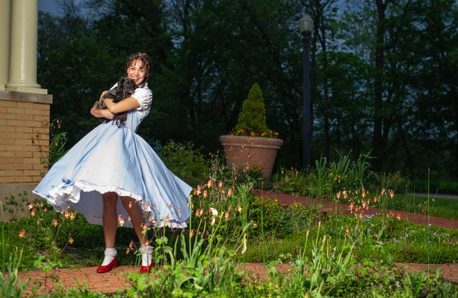 """Brynn Allison-Harty stars in Muncie Civic Theatre's production of """"The Wizard of Oz"""" June 17-20, 2021."""