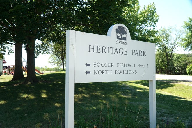 Heritage Park in Canton.