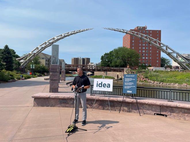 Mayor Paul TenHaken speaks about IDEA on June 16, 2021.