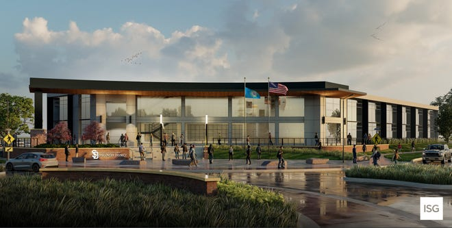 A rendering of the proposed facility at the USD Discovery District