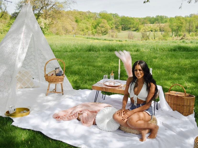Pop-up picnic pandemic trend might be here to stay