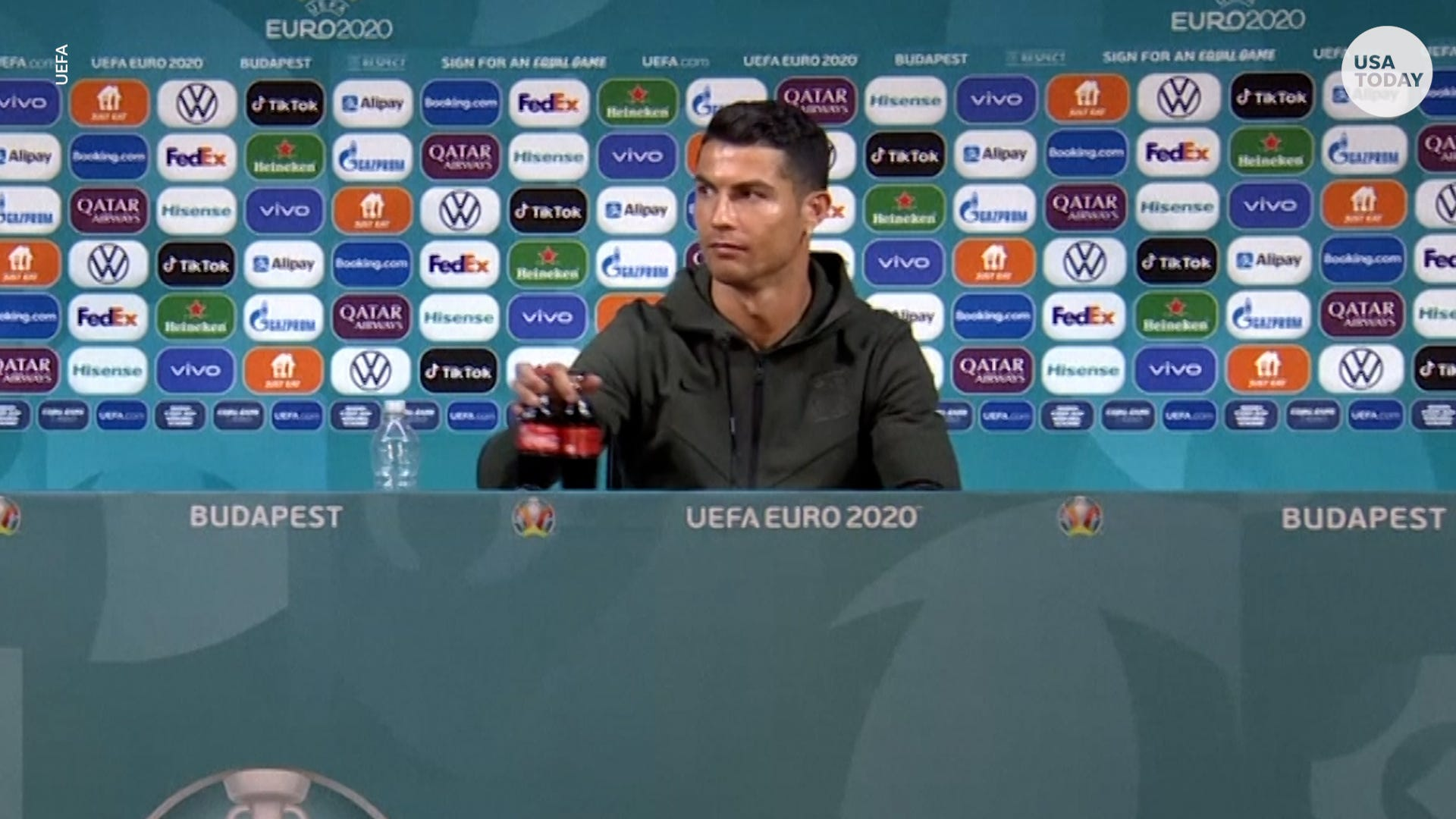 Cristiano Ronaldo may have cost Coca-Cola $4 billion in market value