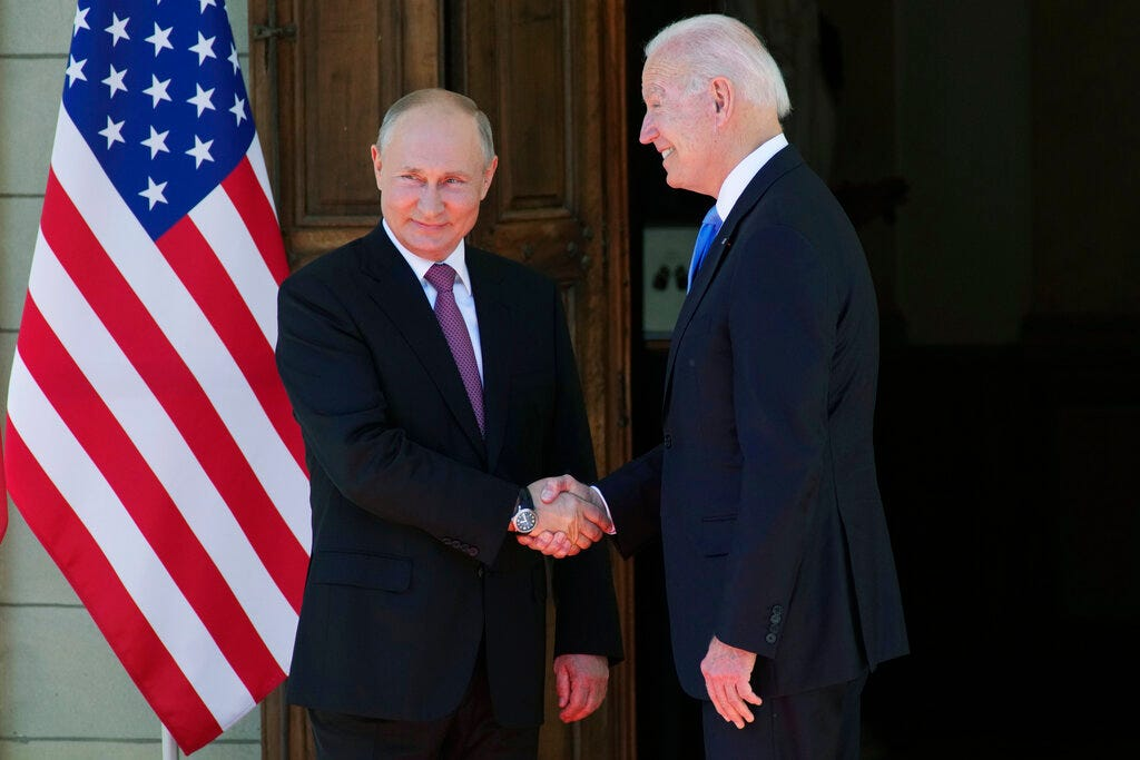 I did what I came to do : Biden describes tone of Geneva summit with Putin as  positive