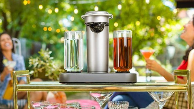 The Bartesian Cocktail Machine is on sale for a great low price.