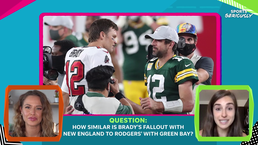 Tom Brady's advice to Aaron Rodgers on his current situation