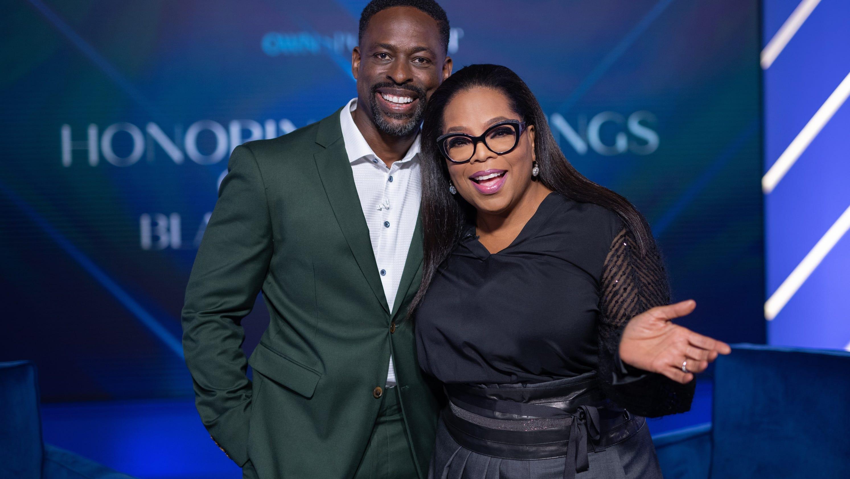 'He is with me': Sterling K. Brown talks emotional ties to late dad, Black fatherhood in Oprah special
