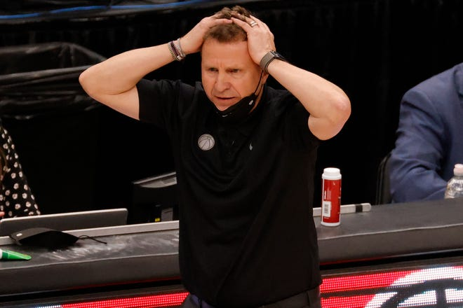 Scott Brooks spent five up-and-down seasons with the Wizards, going 183-207 with three playoff appearances in 2017, 2018 and 2021.