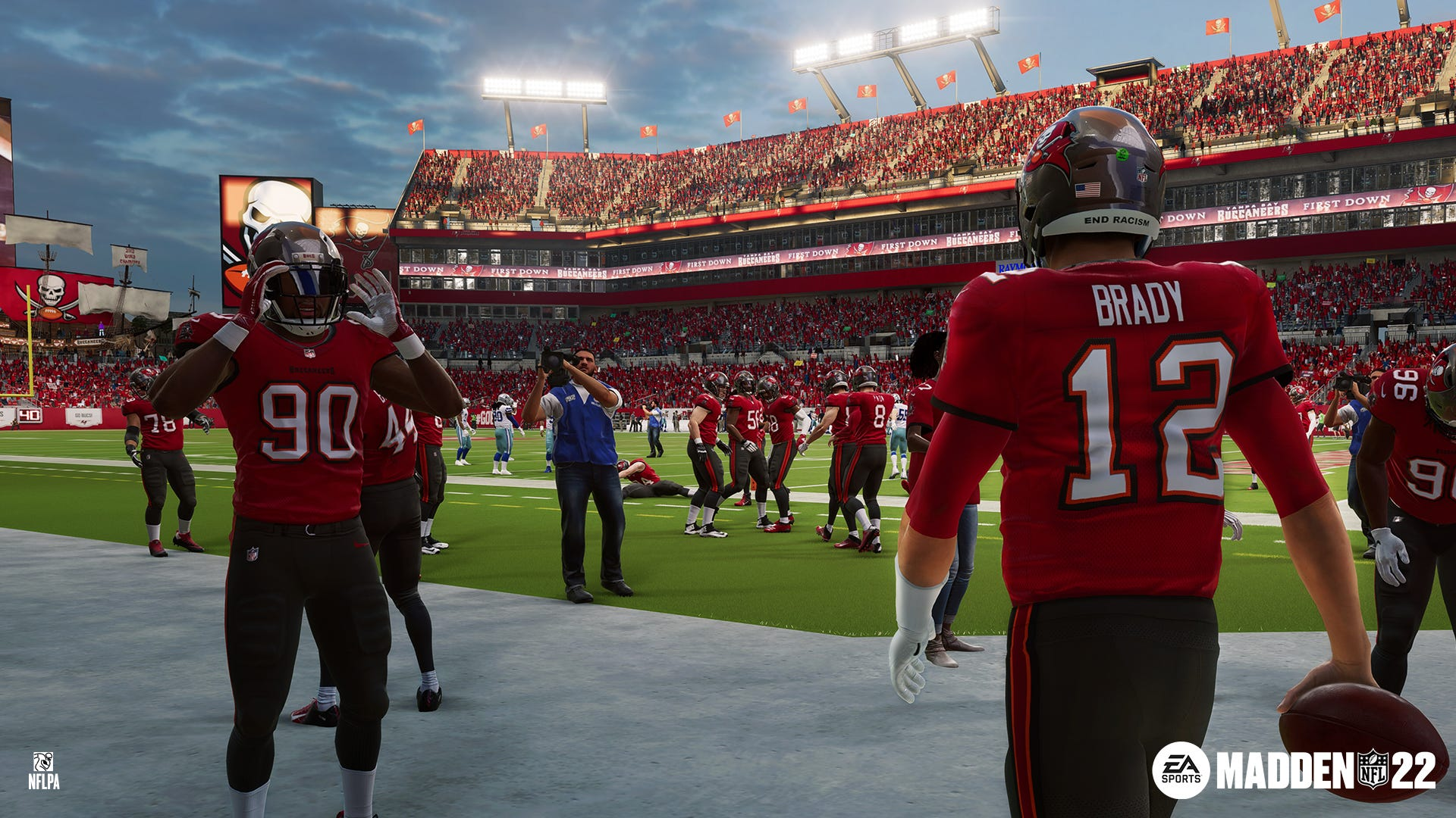Madden NFL 22 : Tom Brady, Patrick Mahomes on video game cover, but inside are new realistic tweaks