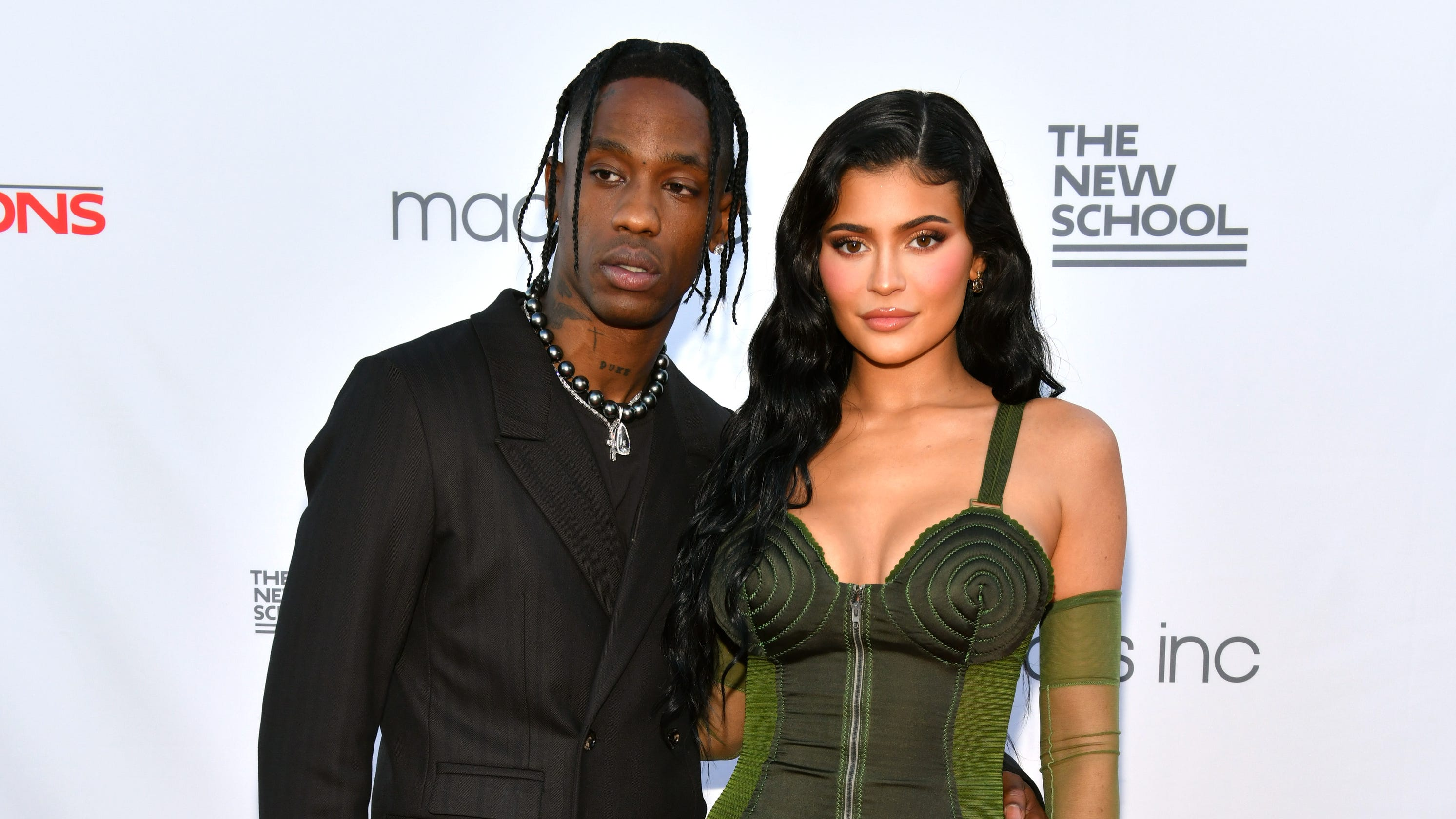 Kylie Jenner, Travis Scott, daughter Stormi step out for family night on the red carpet