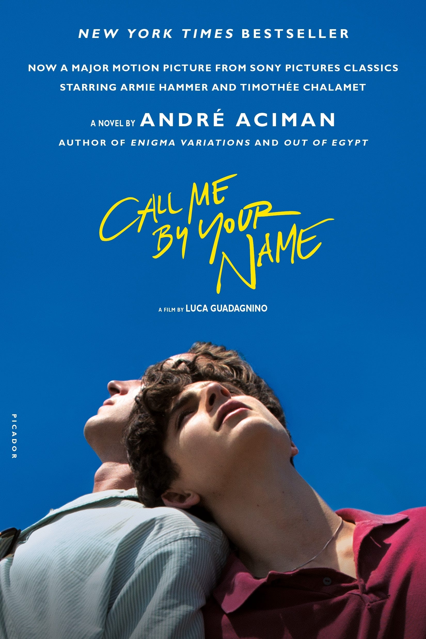 """""""Call Me by Your Name,"""" by André Aciman"""
