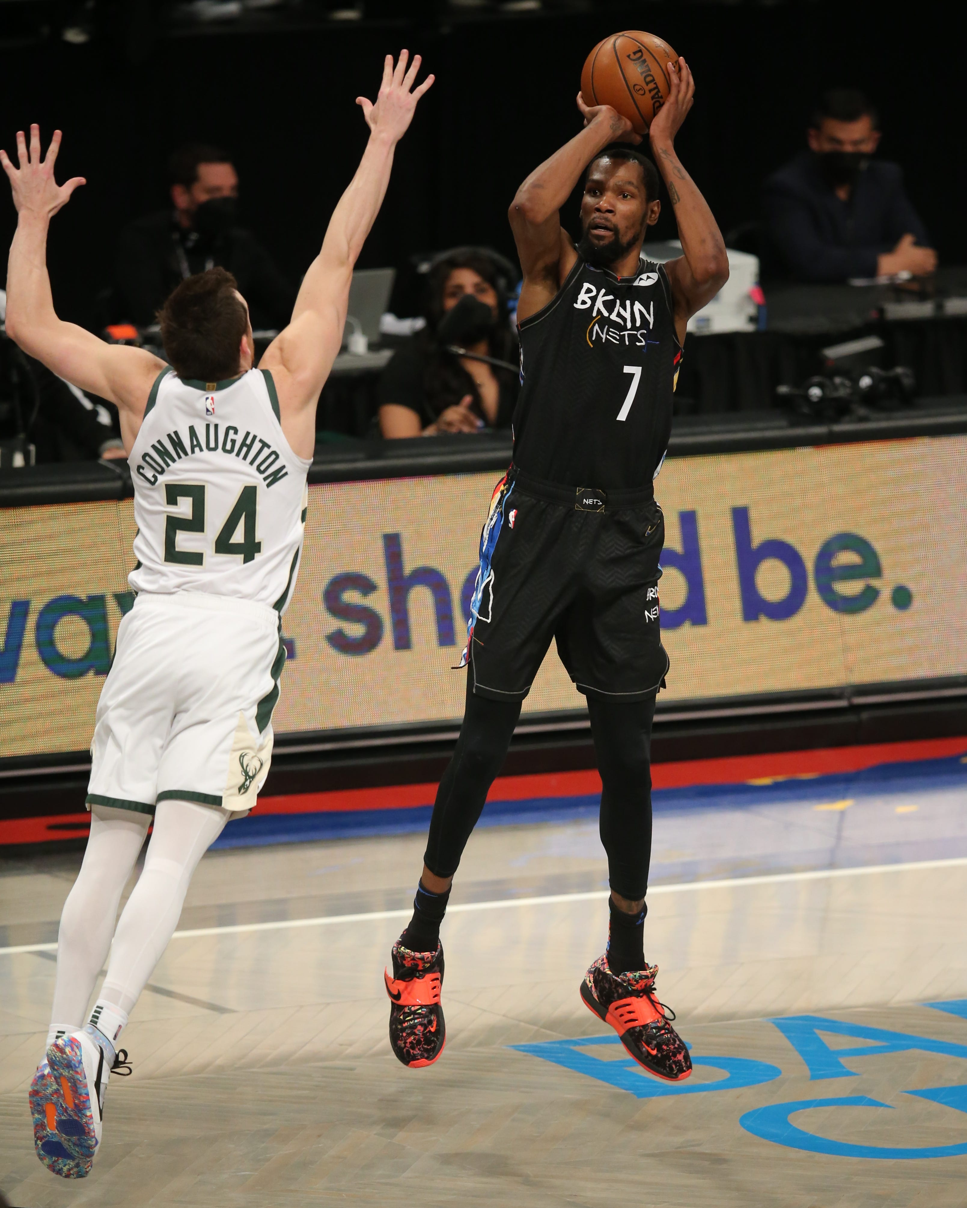 Nets rally past Bucks in Game 5 on Kevin Durant s historic performance to take 3-2 series lead