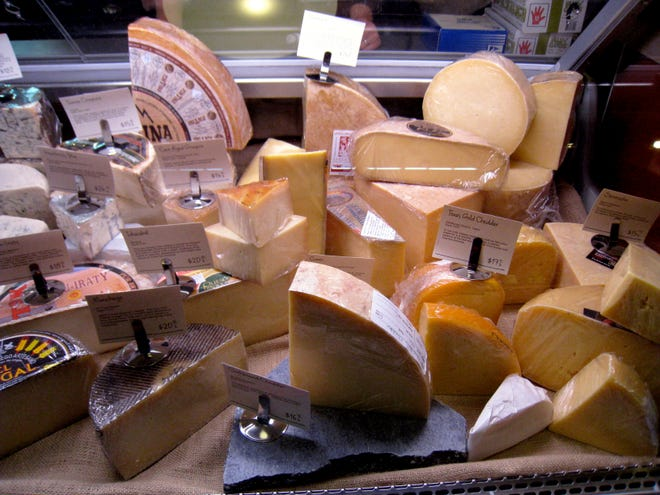 Antonelli's Cheese Shop on Duval Street sells artisan cheese, including several from Texas, in its small Hyde Park shop.