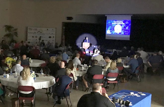 Crestview Mayor JB Whitten is in the city's new spotlight as he delivers the State of the City address at the Crestview Area Chamber of Commerce June breakfast.