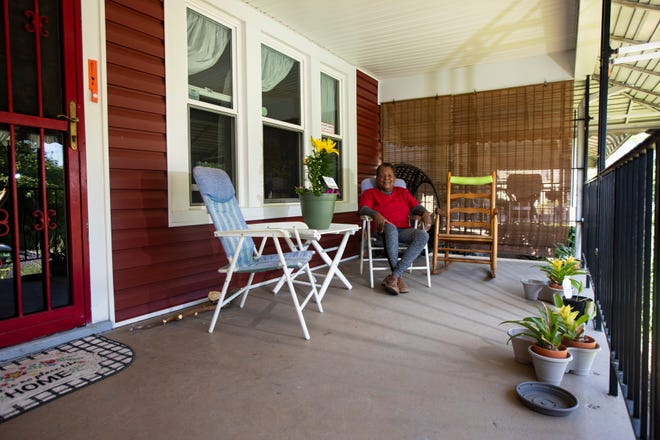 """Alice Poindexter's South Linden home recently received a makeover, including new siding, thanks to Nationwide Children's Healthy Neighborhoods Healthy Families program.  """"I felt like a queen,"""" she said. """"It felt like a new house."""" Poindexter spent much of her youth in that home and returned to it in 2001."""