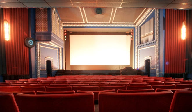 The Strand Theatre in Delaware will reopen on Friday.