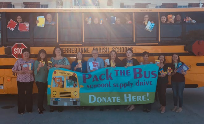 The seventh annual Pack the Bus School Supply Drive is underway.