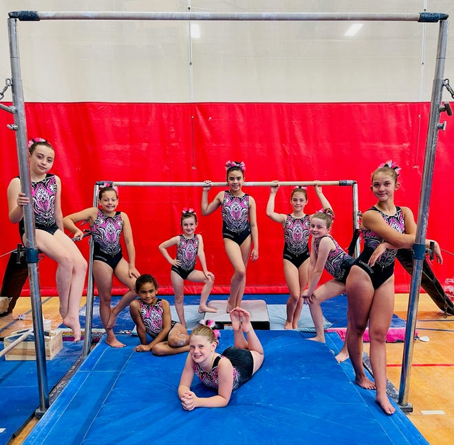 The Cambridge YMCA Gymnastics Team will be traveling to the AAU National Meet in Savannah, Georgia the week of June 23 to June 27. Team members are: Front, Marybeth Yoders, Rylee Wagstaff, Hailey Arnold, Kendalynn Hannon, Audra Koch, Miranda Seindle, Kinley Harvey, Shiloh Blasenhauer, Haley Neiswonger