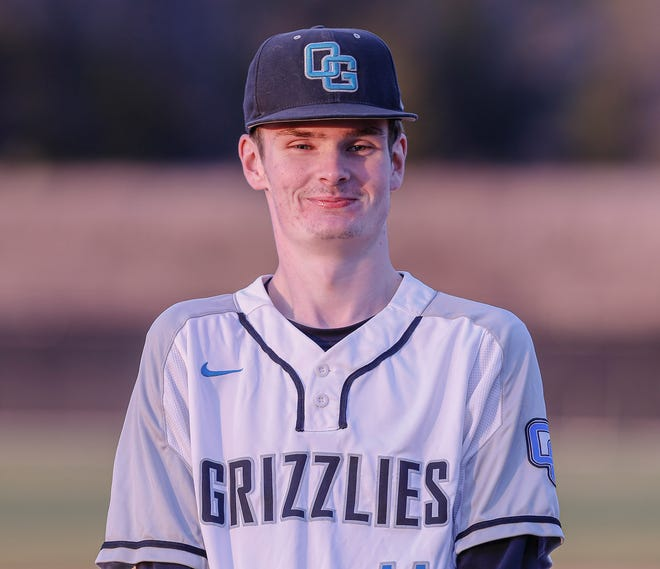 Oak Grove's Evan Cardwell will play for Post 8 this summer. [Michael Coppley for The Dispatch]