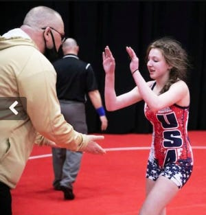 Lexi DeSiato of Western Wayne powered her way to a fourth place medal at this year's girls state championship match. She'll have an official team to wrestle with this coming winter as Western Wayne has decided to sponsor a varsity girls team for the first time.