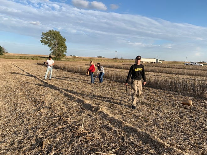 Chaff lining is one weed control tactic that will be showcased at the July 8 event.