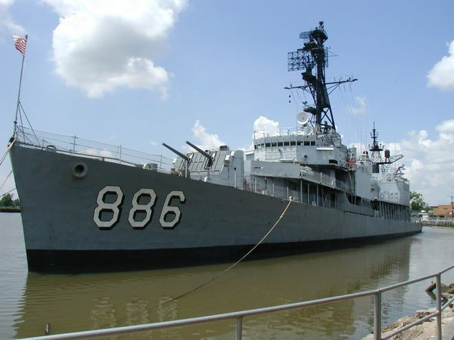 The USS Orleck could come from Lake Charles, La. to downtown Jacksonville and be a floating museum docked at a pier in the Shipyards.