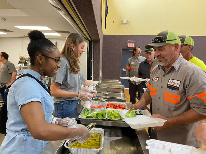 Grand Central Station held a Public Servants luncheon Thursday in Sherman.