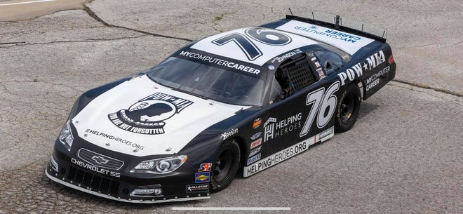 The Freedom Car was created by Team Johnson Motorsports as a way to raise awareness of the POW-MIA issue