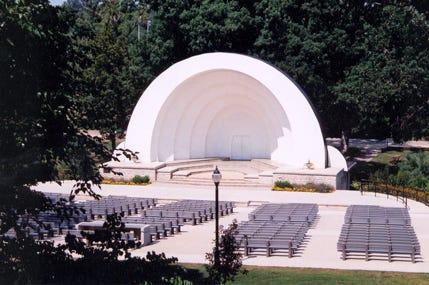 The Koenig Bandshell in Krape Park.