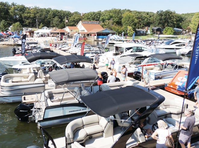 The September In-Water Boat Show at Captain Ron's.