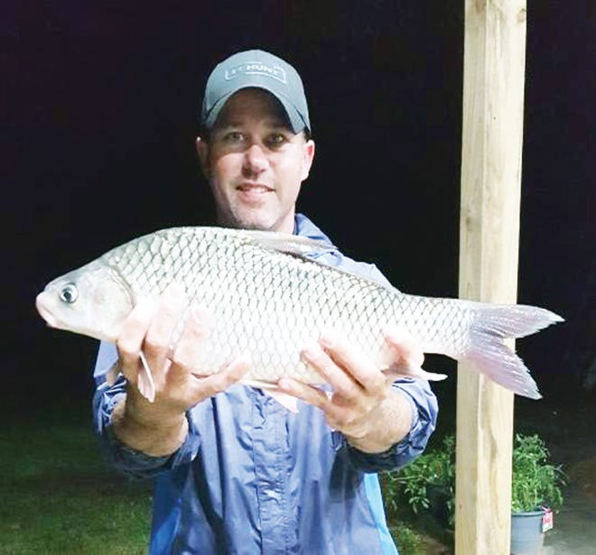 Steven Henson of Bonne Terre is the sixth state record holder of 2021 after catching a 3-pound, 14-ounce river carpsucker on the Mississippi River June 1.