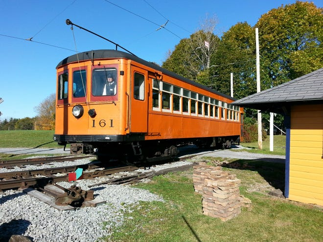 Trolley rides will be offered at the New York Museum of Transportation.