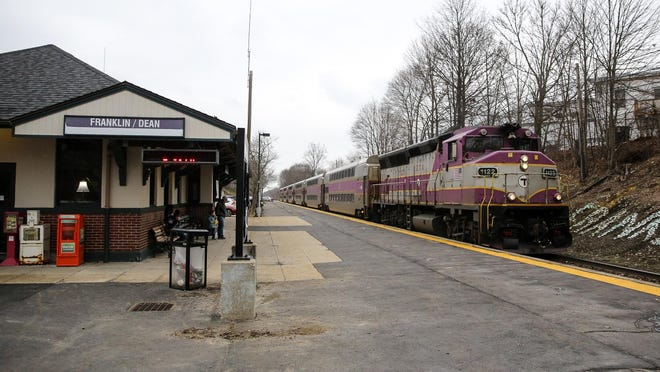 Weekend service will return in July to the entire MBTA commuter rail network, including the Franklin line.