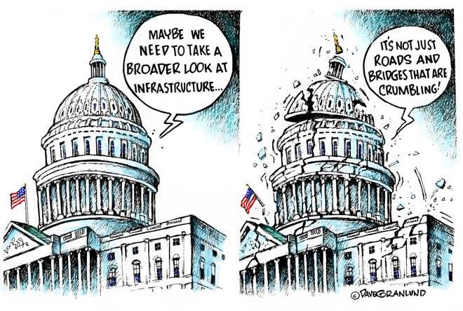 Dave Granlund cartoon on Congress