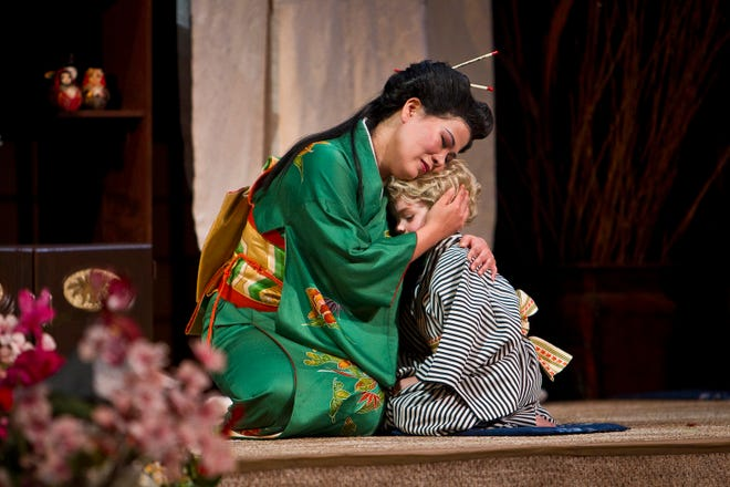 """Korean lyric soprano Jinwon Park has become well known for playing the title role in Puccini's classic opera """"Madama Butterfly."""""""