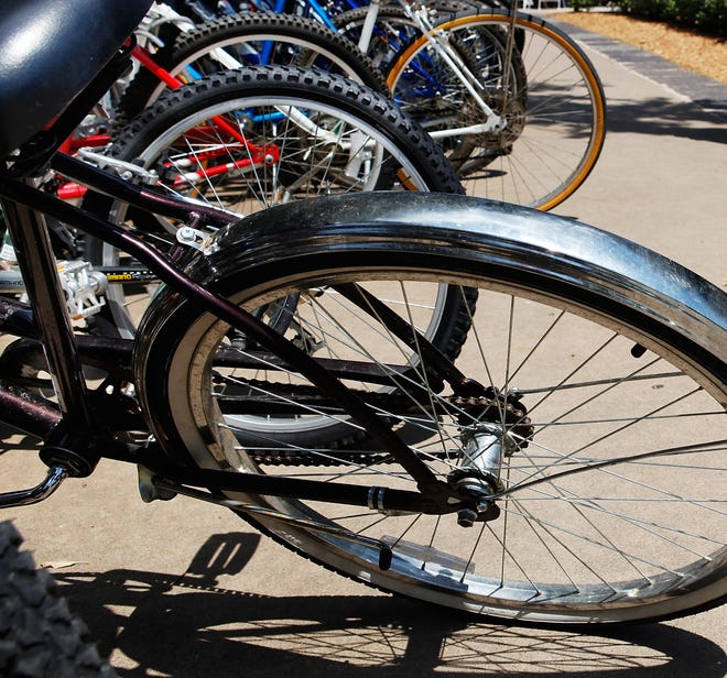 Yukon bicycle owners can register their rides with the Yukon Police Department on Saturday. The program is intended to help police return bicycles to their rightful owners if a bike is recovered after being lost or stolen.