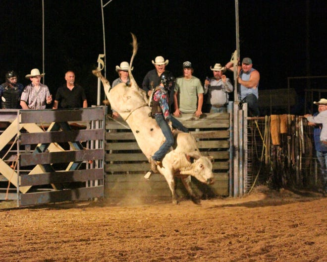 Young riders made the Scranton Rodeo an exciting time