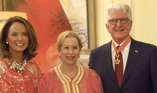 Jennifer Fischer, Princess Lalla Joumala, Amb. David T. Fischer