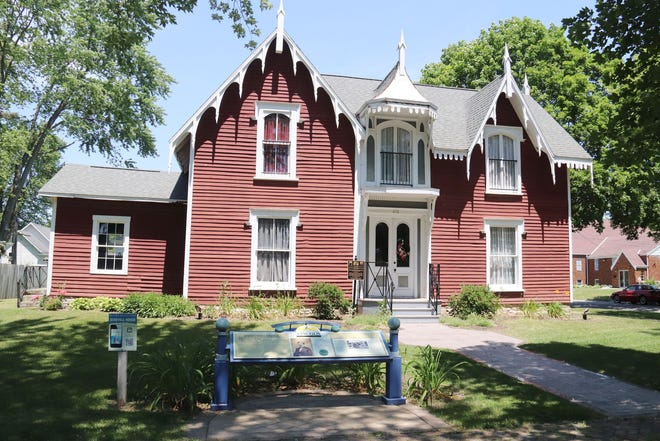 The David Strevell Home at 401 W. Livingston St. is one of three houses that will be open for tours on Saturday. The others will be the Jones House at 314 E. Madison St. and the Catherine V. Yost House and Museum, at 298 W. Water St.