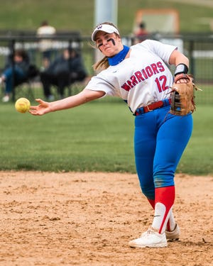 Winnacunnet High School senior second baseman Nicole Basil, who batted .465 this season with team-highs in home runs (five), RBIs (29) and runs (35), was named Division I Co-Player of the Year with Merrimack's Erin Knauer.