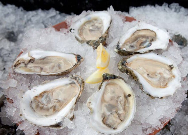 Matunuck oysters will be offered as free samples Friday at Dave's Fresh Marketplace's East Greenwich store only from 11 a.m. to 4 p.m. on Friday, June 18.