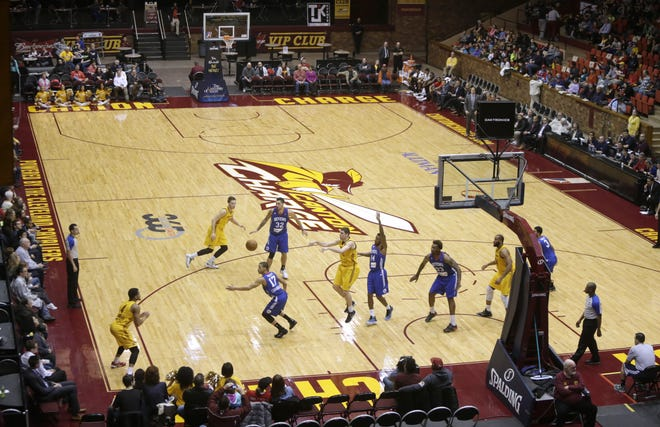The Canton Charge host Delaware at Memorial Civic Center, Jan. 21, 2015.