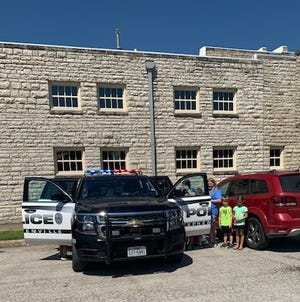 Youngsters got to tour a Stephenville Police Department patrol vehicle during a Stephenville Parks and Rec summer camp event on Thursday.