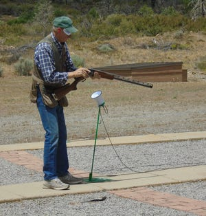 People came from as far away as Crescent City, Folsom, and Roseburg, Ore.to participate in the Yreka Clay Birds' 14th annual spring 500 P.I.T.A. registered trap shoot at Dodge Range.