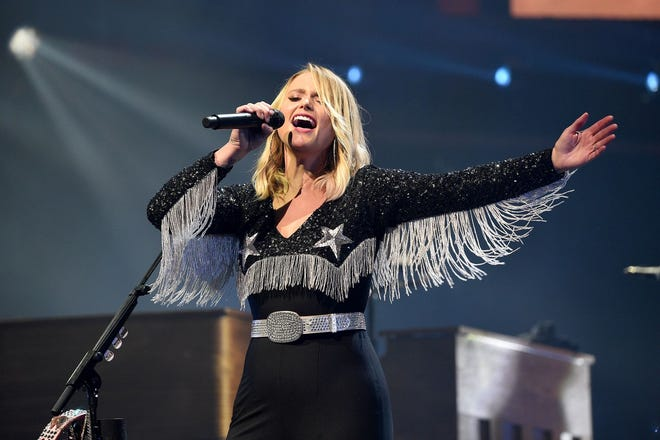 Country singer Miranda Lambert will play Riverfront Park Amphitheater in Wilmington on Aug. 7.