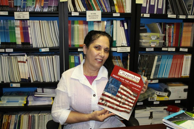 With the help of the Craven County Literacy Council, Virginia Acevedo gained her citizenship in December of 2020 after moving to the U.S. from Cuba in 2014 and to the New Bern Area two years ago.
