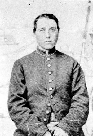 Jennie Hodgers as Civil War soldier Albert Cashier