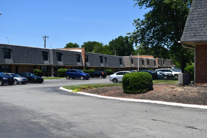 A fire broke out at Brittany Apartments in Burlington on June 9 leaving one family displaced.