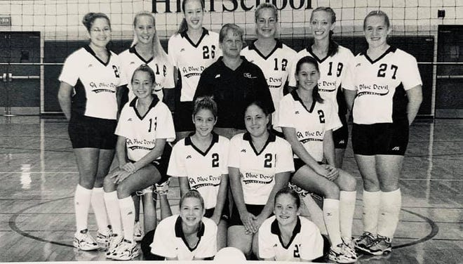 Rhonda Kershner coached Greencastle-Antrim Middle School and High School volleyball for 15 years